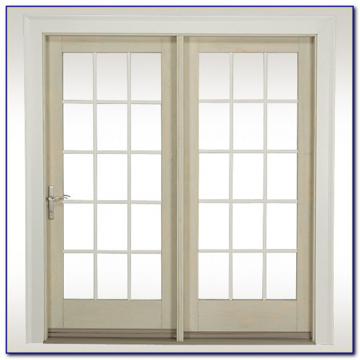 Hinged Patio Doors With Built In Blinds