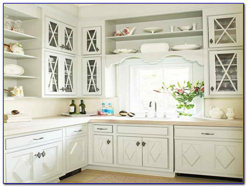 Kitchen Cabinet Hardware Placement Ideas - Kitchen-Set ...