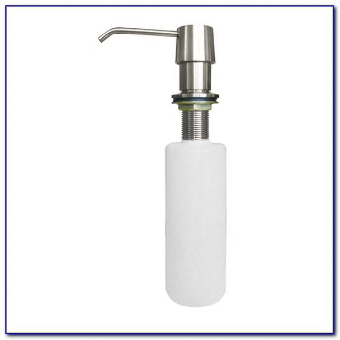Kitchen Sink Soap Dispenser Hole Size