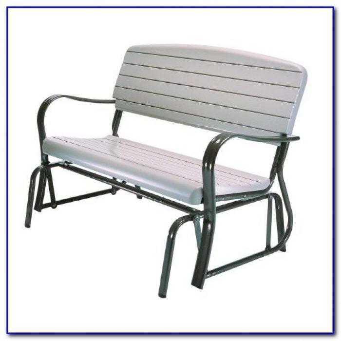 Lifetime Patio Glider Bench