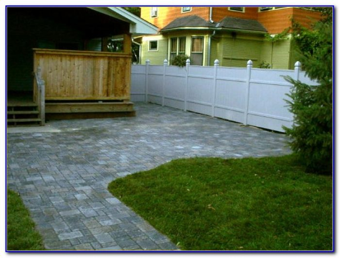 Menards Circular Patio Pavers