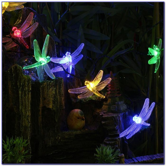 Outdoor Solar Patio String Lights