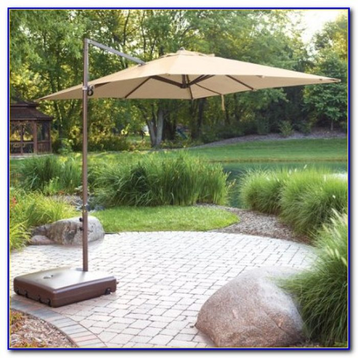 Outside Umbrella With Stand