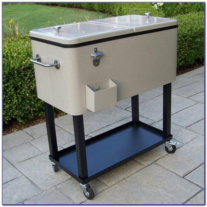 Patio Cooler Cart Diy