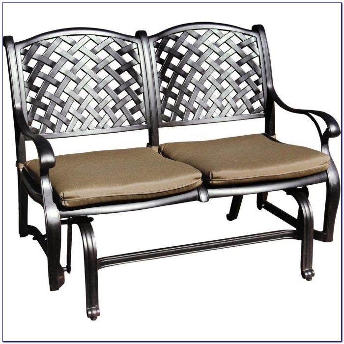 Patio Glider Bench Cushions