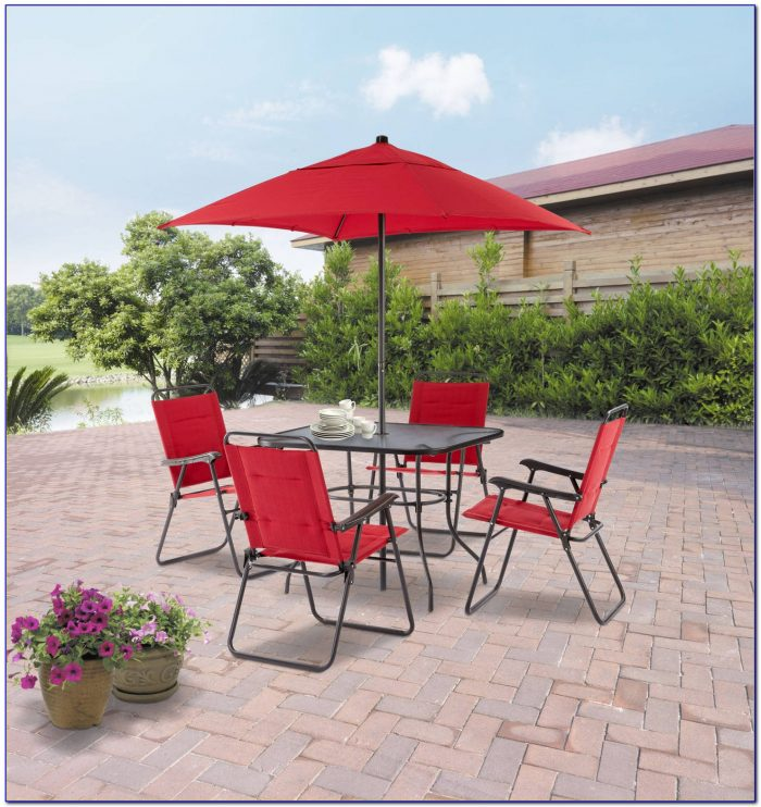 Patio Sets With Umbrella At Walmart