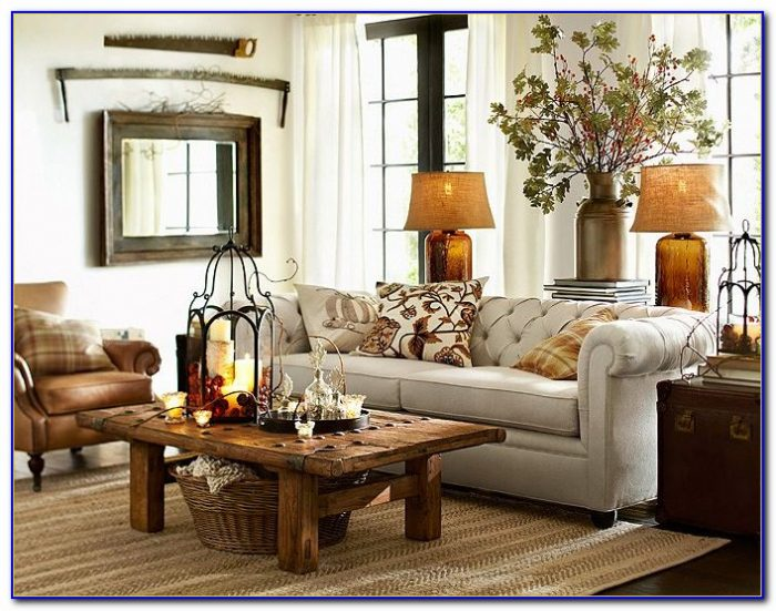 Pottery Barn Living Room Curtains