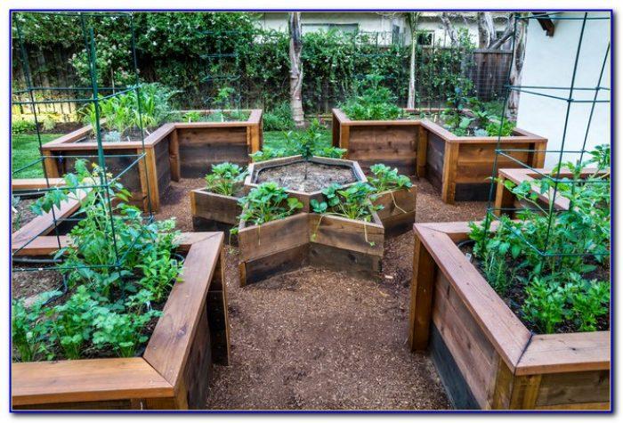Raised Garden Beds Plans Materials