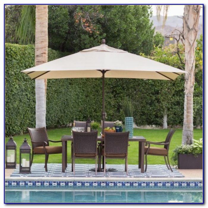 Rectangular Outdoor Umbrellas