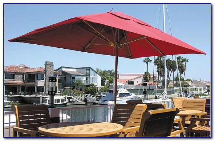 Rectangular Patio Umbrella Cantilever