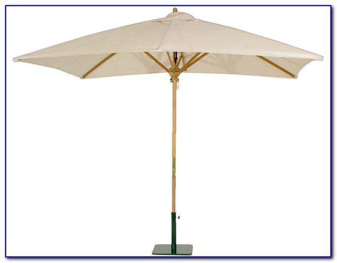 Rectangular Patio Umbrella Sunbrella