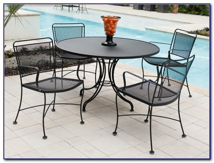 Rod Iron Patio Furniture Paint