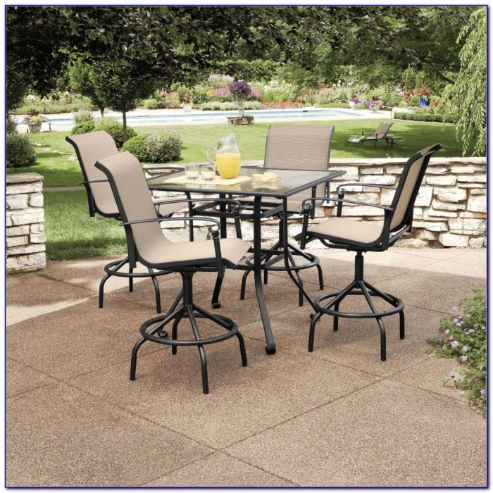 Sears Patio Set With Umbrella