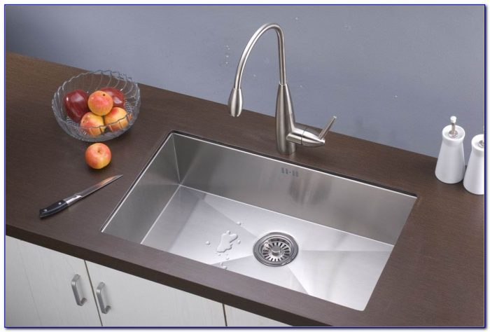 Single Bowl Kitchen Sink Size