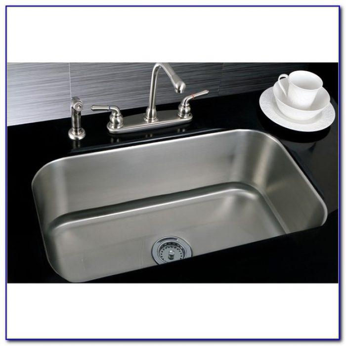 Single Bowl Kitchen Sink Undermount