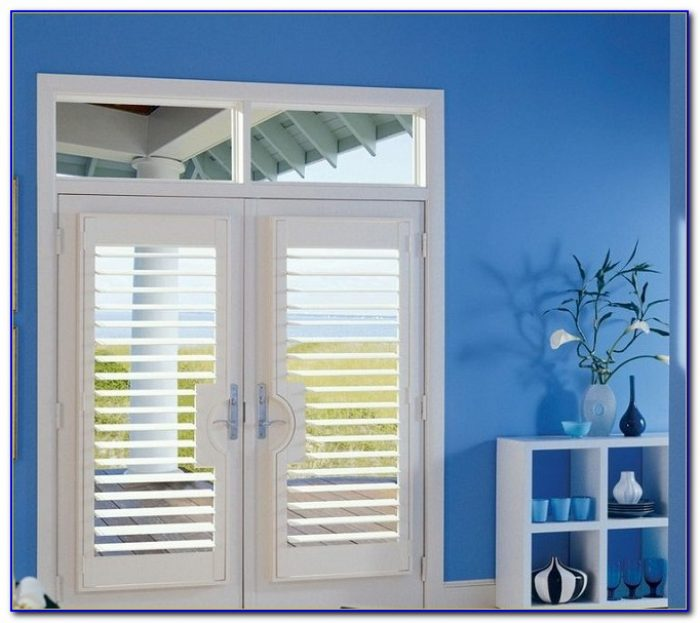 Sliding French Patio Doors With Built In Blinds