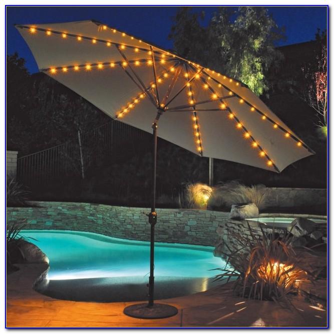 Solar Led Patio Umbrella Lights