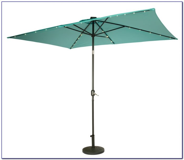 Solar Patio Umbrella Usb