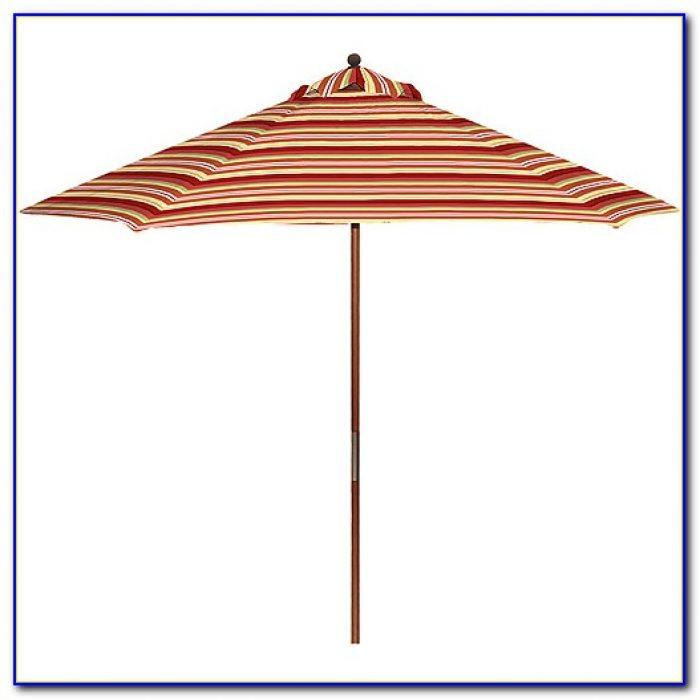 Striped Patio Umbrella Sunbrella