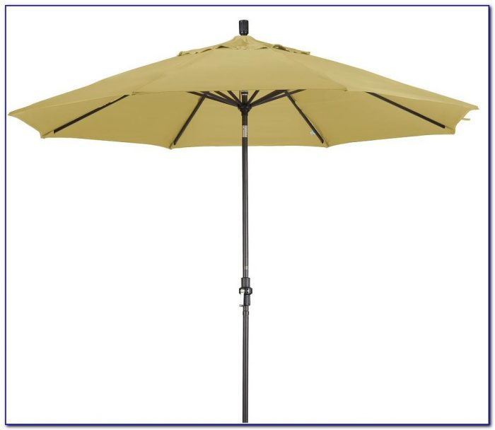 Sunbrella Patio Umbrella With Lights