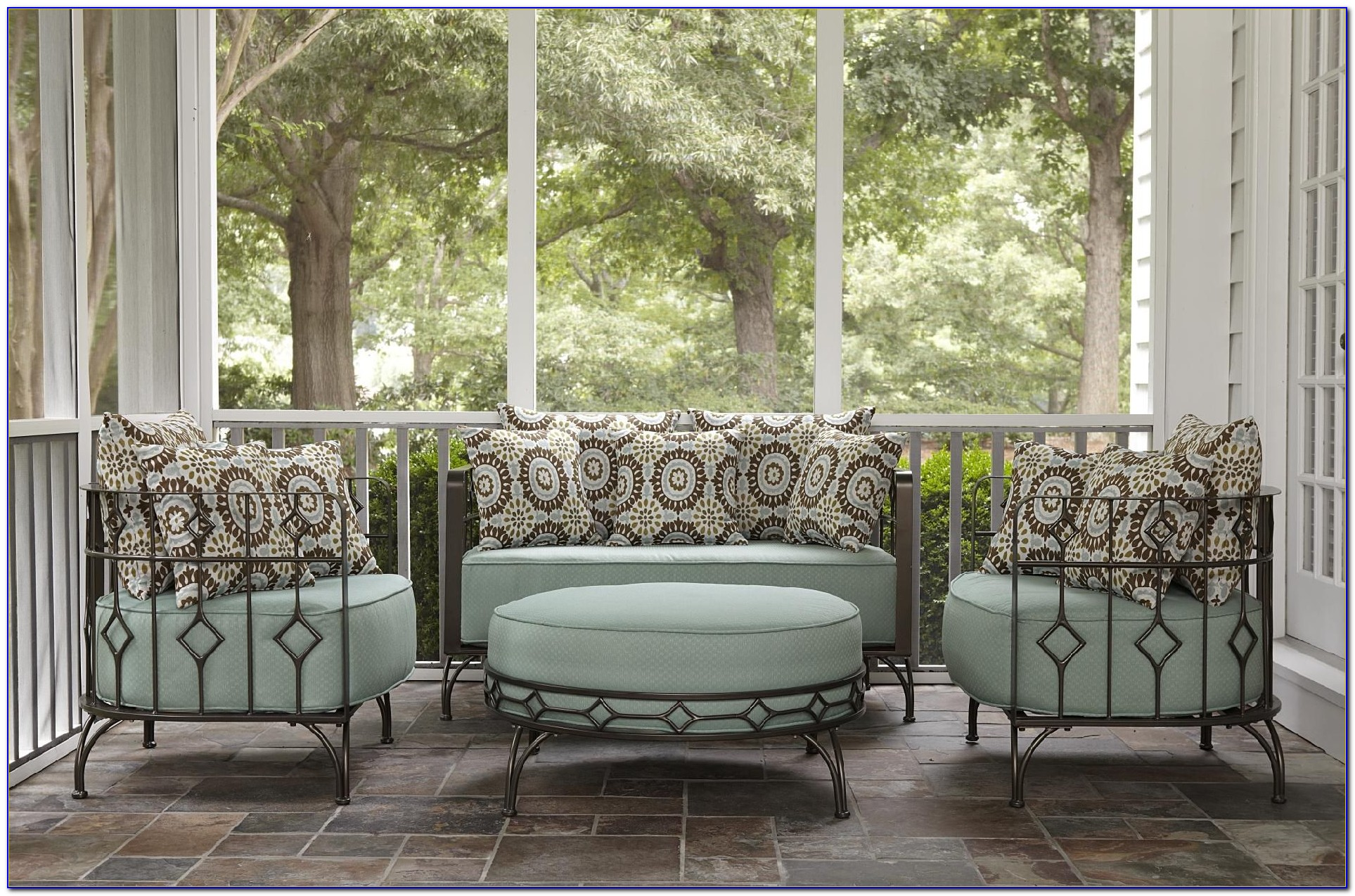 ty pennington patio furniture replacement cushions - living