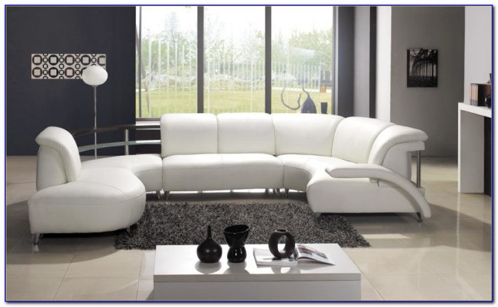 White Furniture In Living Room Decorating
