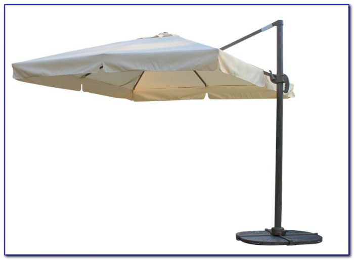 11 Square Offset Patio Umbrella