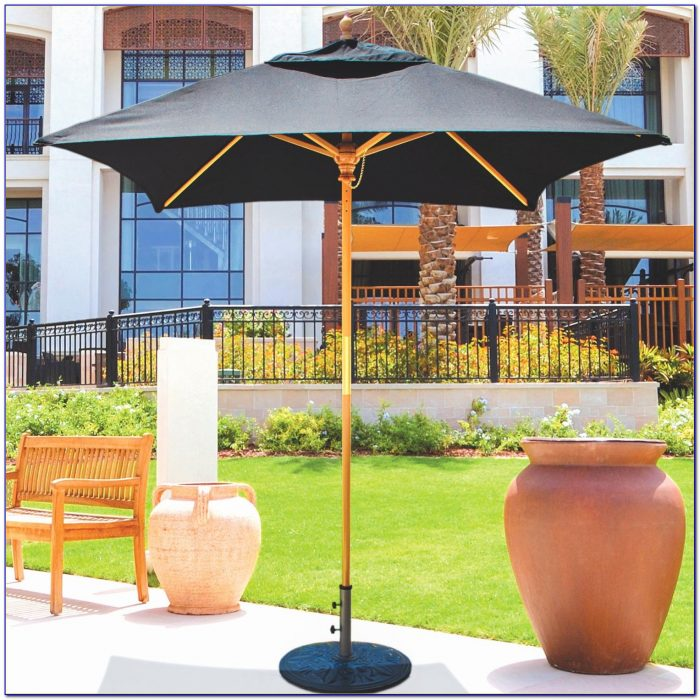 6 Foot Round Patio Umbrella