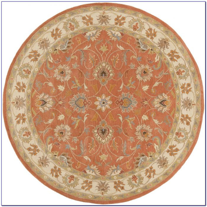 8 Ft Round Braided Rugs