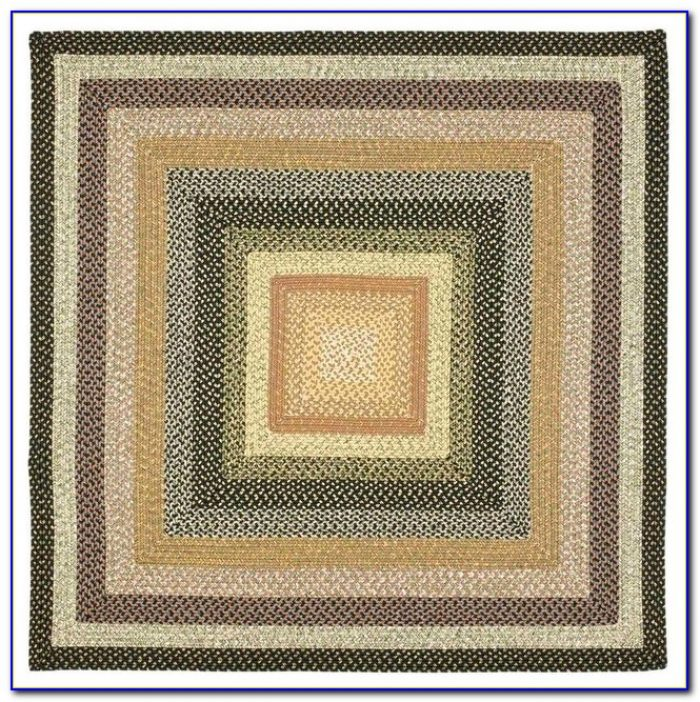 8x8 Square Wool Rugs