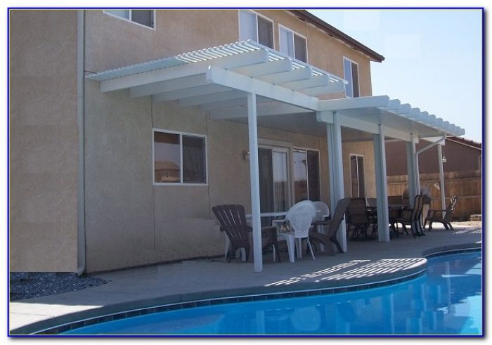 Arrow Attached Patio Cover