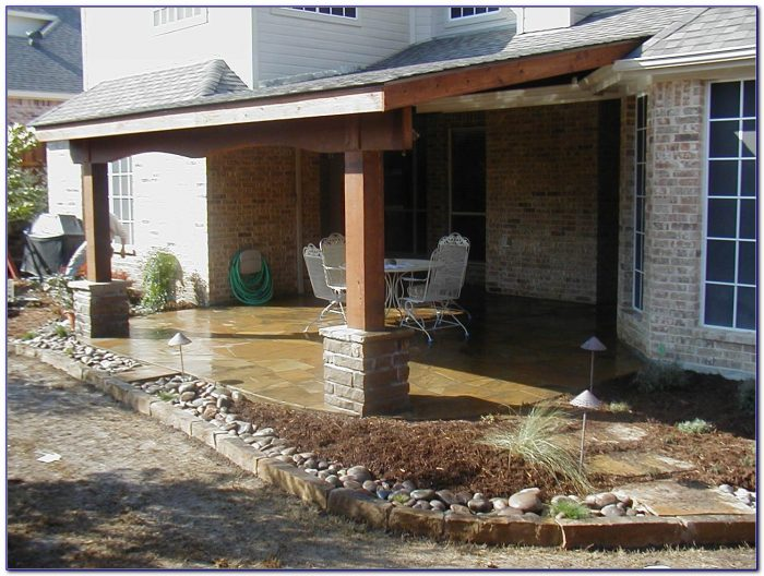 Attached Patio Cover Designs