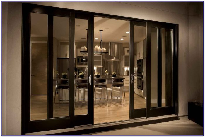 Bamboo Sliding Panels For Patio Doors