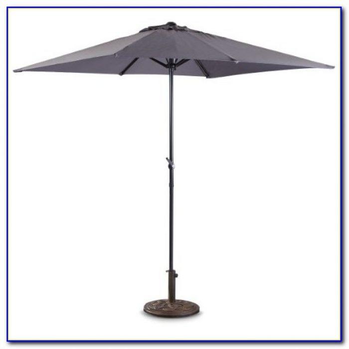 Charcoal Grey Patio Umbrella