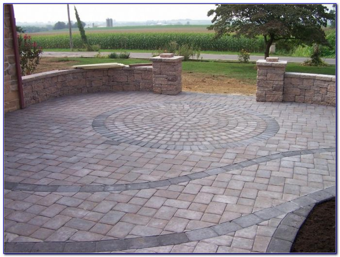 Circular Patio Paver Kits