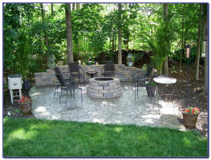 Concrete Stamped Patio Pictures