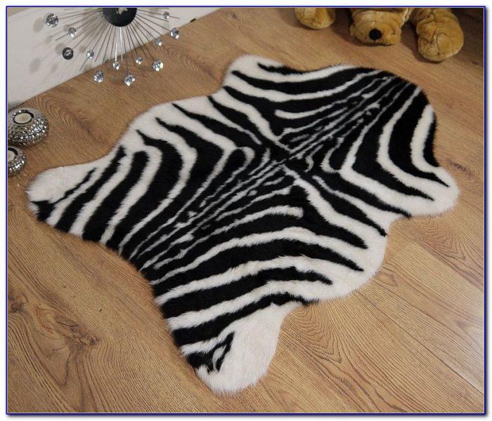 Faux Zebra Rug Nz