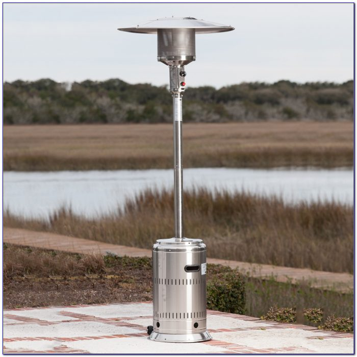 Fire Sense Commercial Patio Heater Mocha