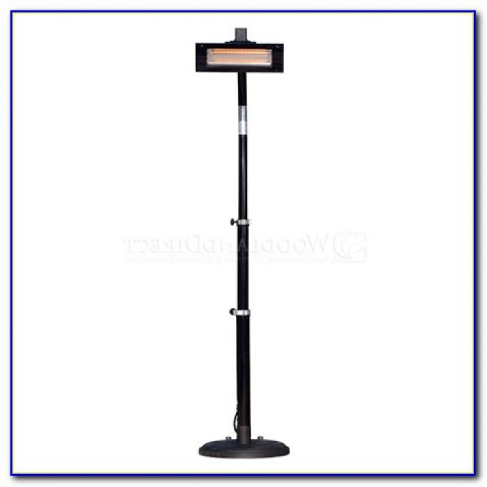 Fire Sense Deluxe Patio Heater Copper Finish