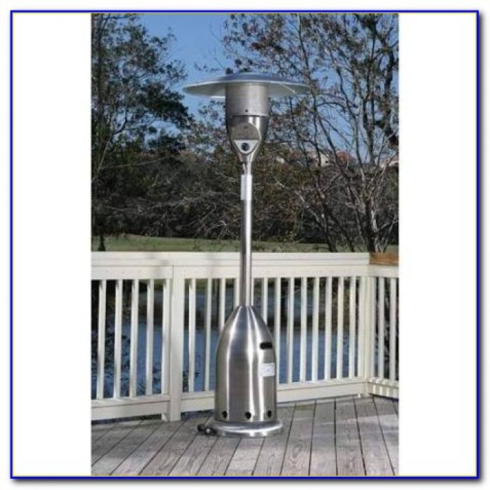 Fire Sense Deluxe Patio Heater Hammer Tone Bronze