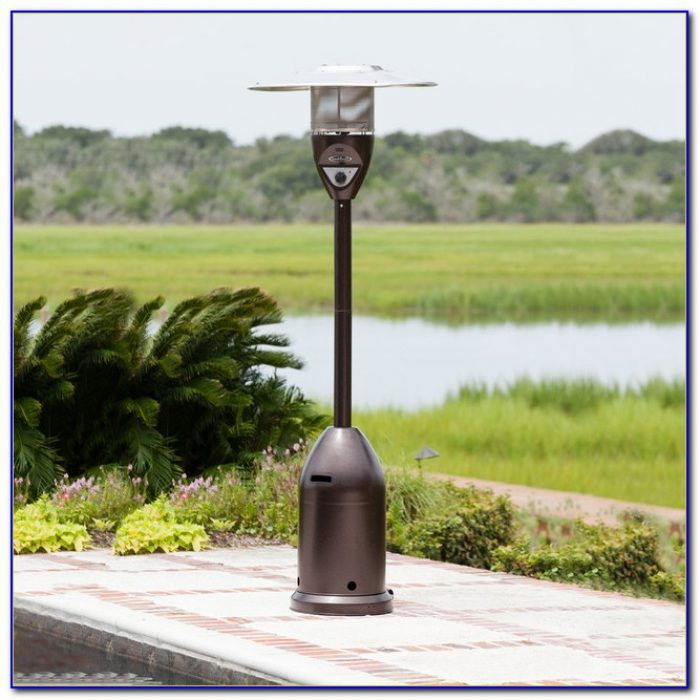 Fire Sense Deluxe Patio Heater Stainless Steel