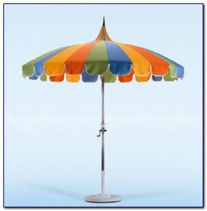 Floral Pagoda Patio Umbrella