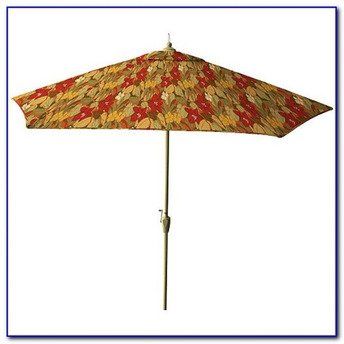 Floral Patio Umbrella