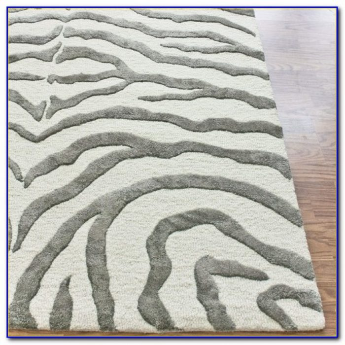 Grey Zebra Rug Uk
