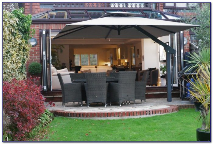 Large Cantilever Patio Umbrellas Uk