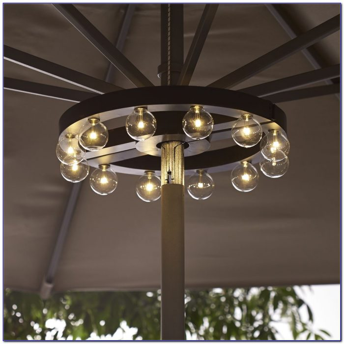 Lights For Patio Umbrella