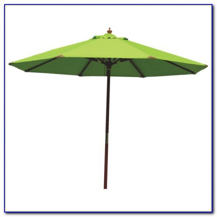 Lime Green Rectangular Patio Umbrellas