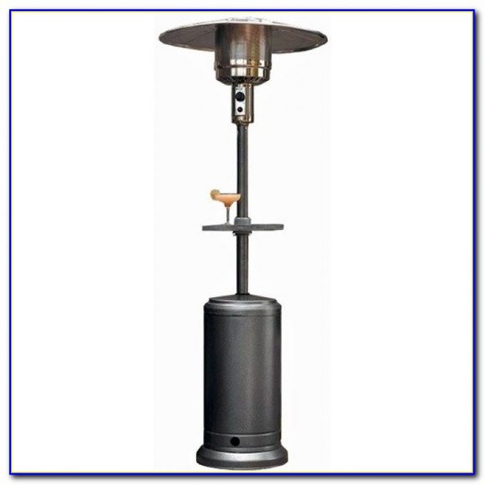Mainstays Patio Heater With Adjustable Table