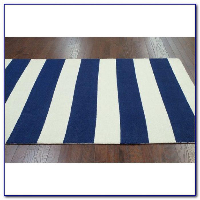 Navy Rugby Stripe Bedding