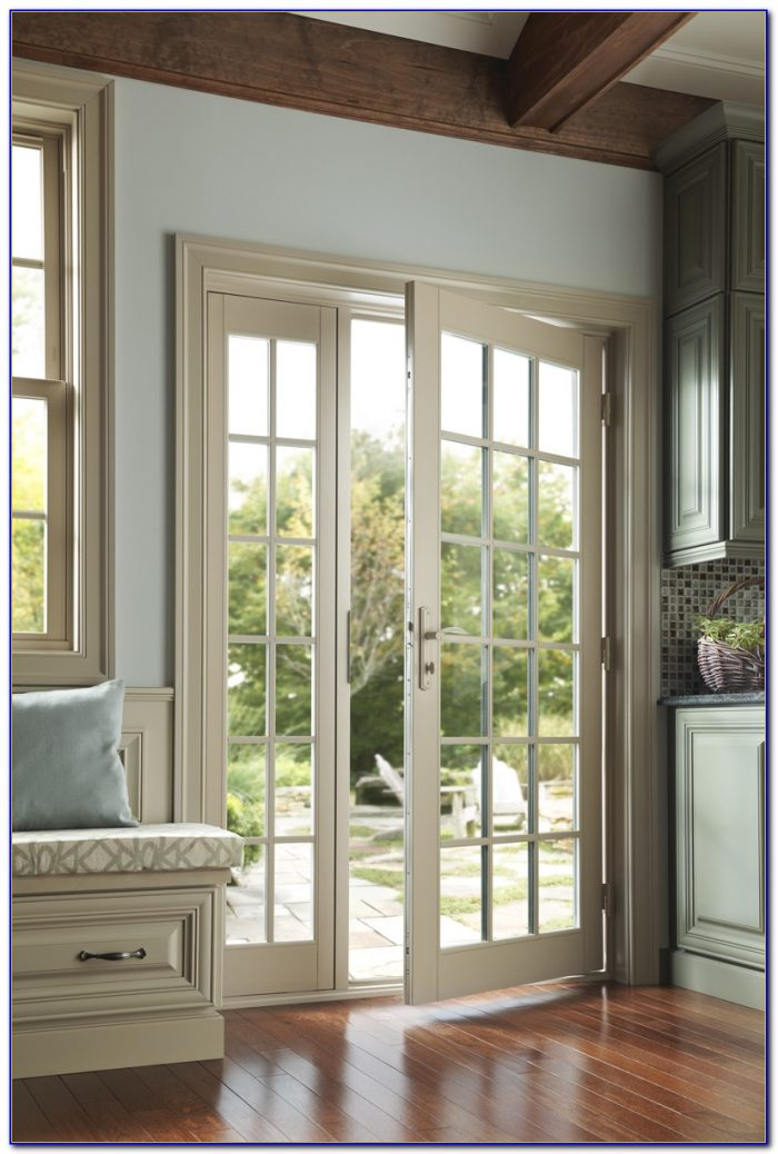 Outswing French Patio Doors With Screens